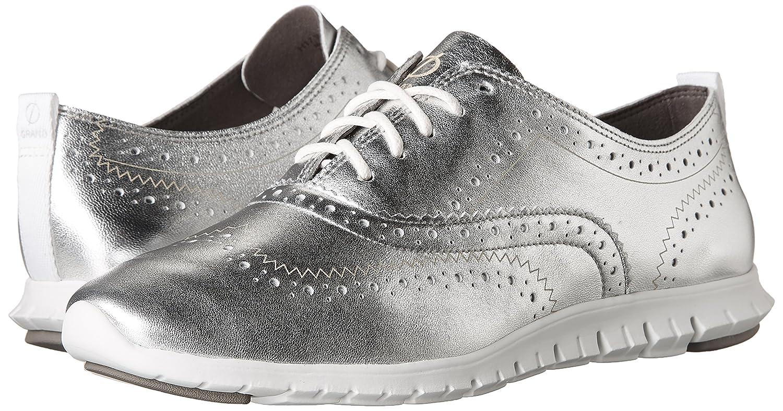 Cole Haan Zerogrand Wingtip Oxford Argento Metallic Casual Shoe