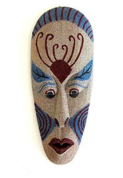 Máscara africana para pared para colgar Decor máscara de elefante buena suerte decoración de la pared