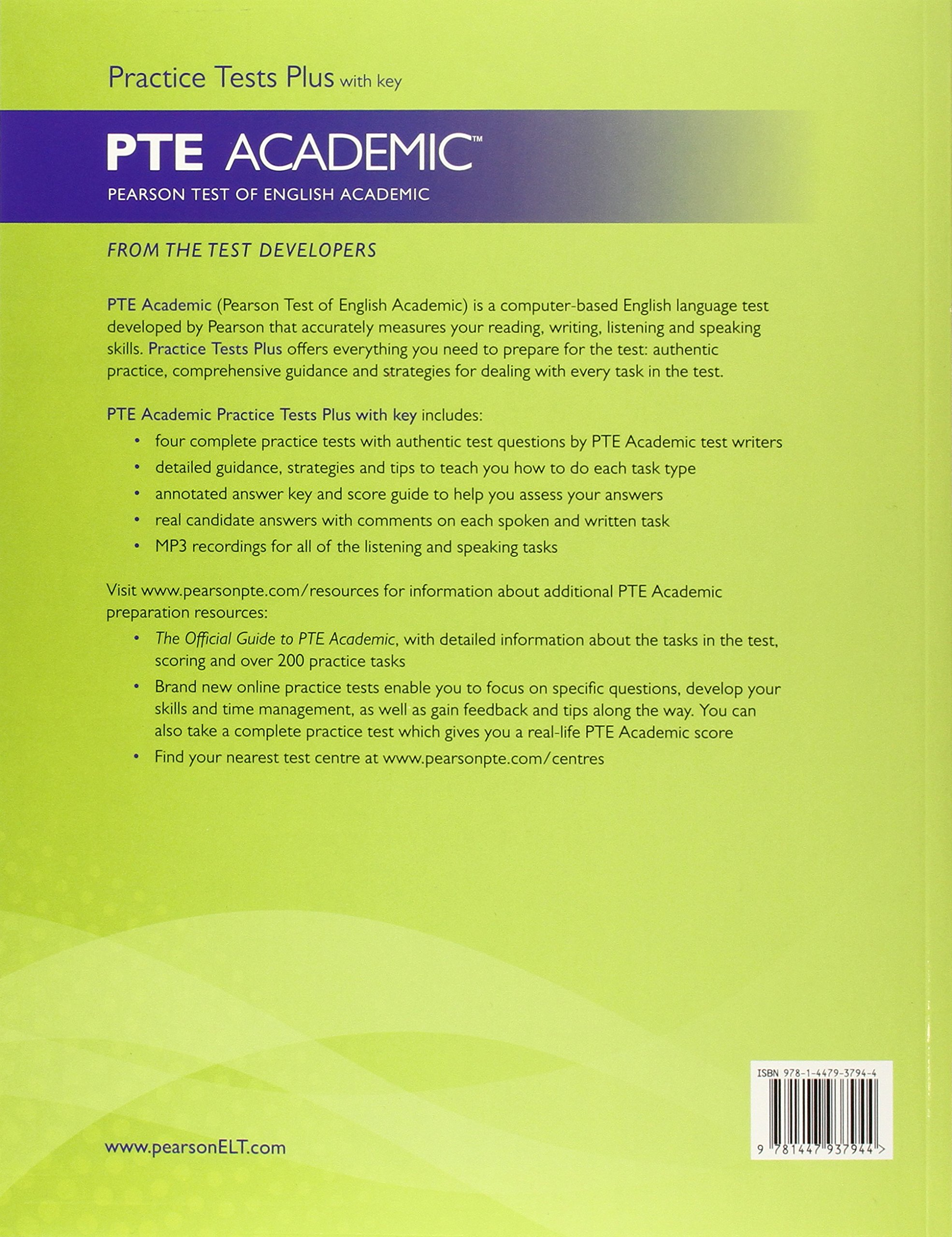 pte academic listening test useful