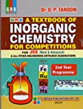 A Textbook of Inorganic Chemistry for Competitions for JEE (Main Advanced) & All Other Engineering Entrance Examinations (2nd Year Programme)
