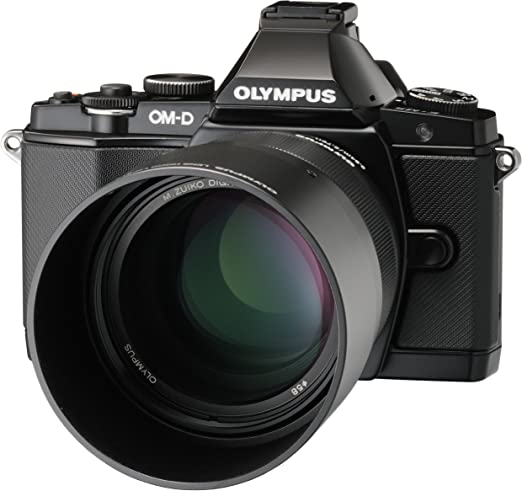 Olympus Lh 61f Metal Lens Hood For M Zuiko Digital 75mm Camera Photo