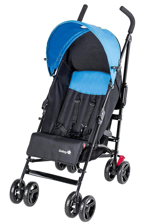 Safety 1st Slim, kompakter Liegebuggy mit Sonnenverdeck, schwarz/hellblau Dorel Germany GmbH (VSS) 1132325000
