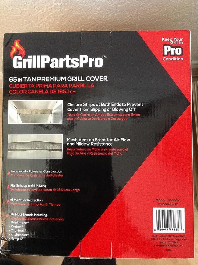 Grill Parts Pro 65 in. Tan Premium Grill Cover