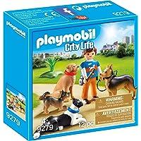 PLAYMOBIL- Adiestrador de Perros Juguete, Multicolor (geobra Brandstätter