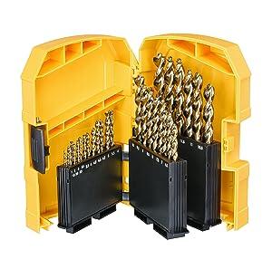 Dewalt DT7926-XJ Metal drill bit-Set (29 Piece) HSS-G