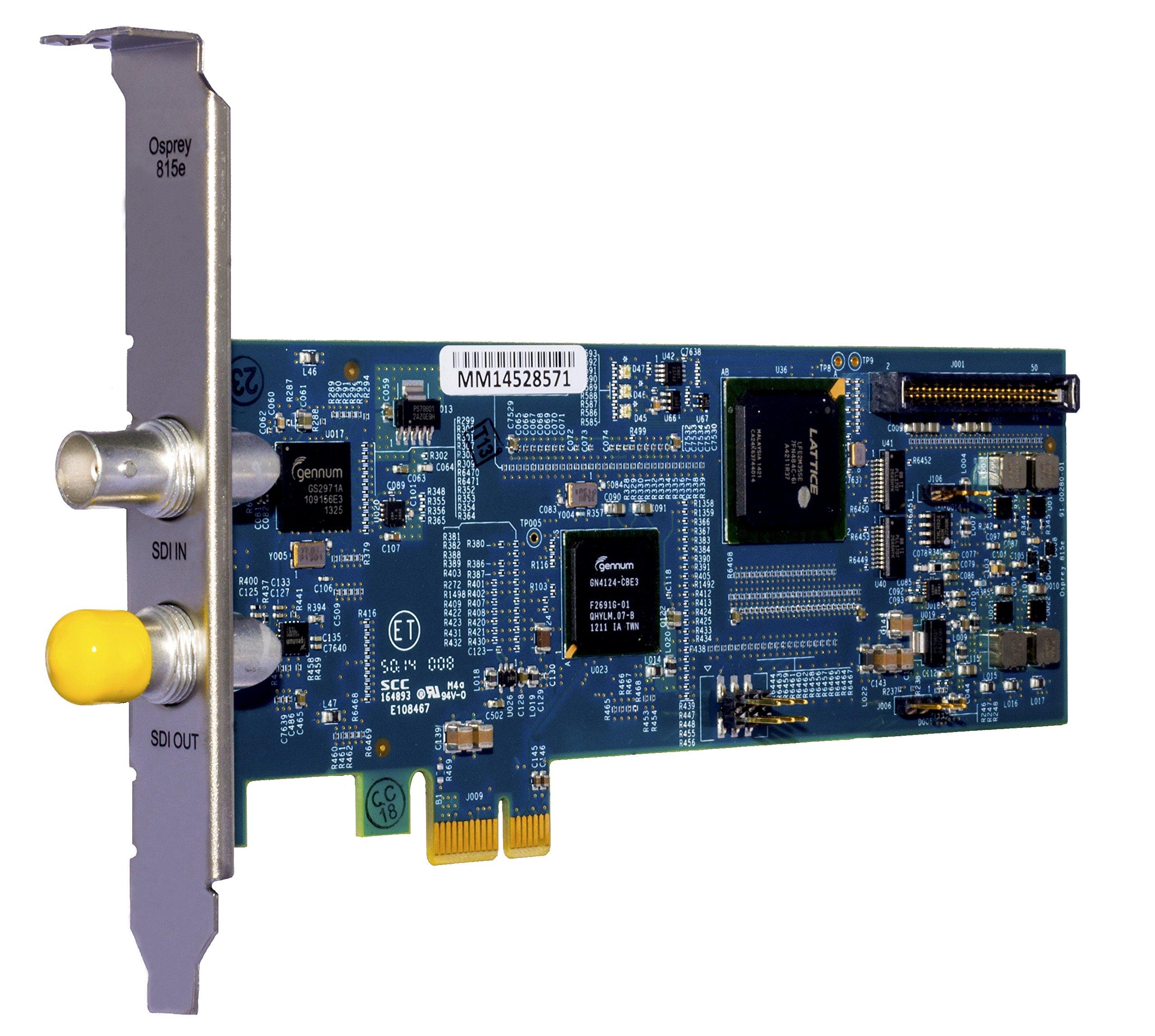 Osprey Video 815e HD SDI Video Capture Card by Osprey Video
