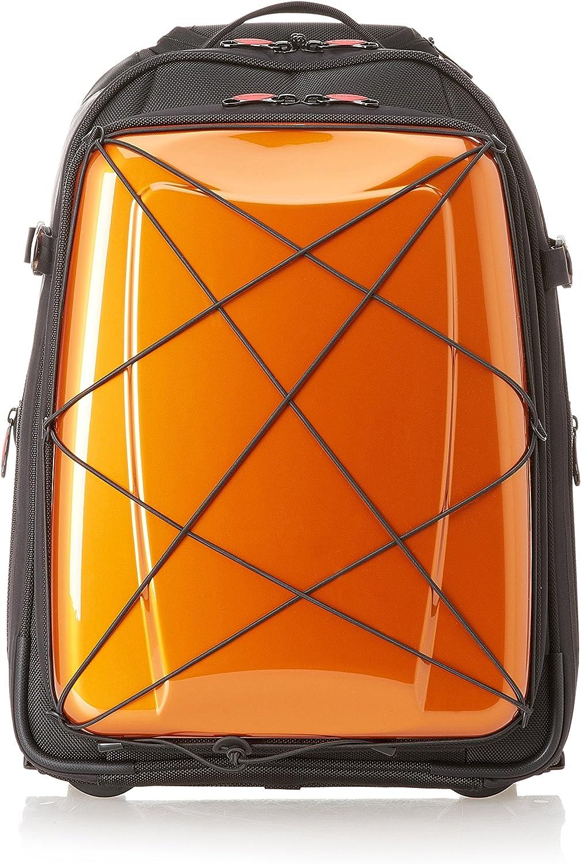 Hideo Wakamatsu Hybrid Backpack Trolley Laptop Bag Orange Amazon Ca Luggage Bags