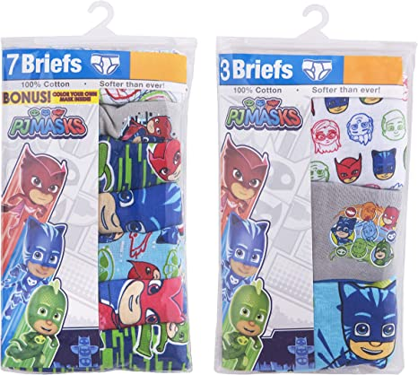 PJMASKS Varones 7-pack Pj Masks Brief Underwear Ropa interior