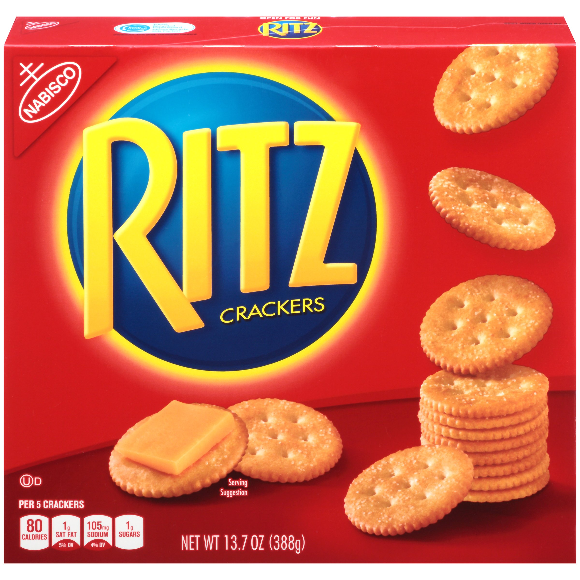 Ritz Original Crackers, 13.7 Ounce (Pack of 12) by Ritz