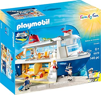 Amazoncom PLAYMOBIL Cruise Ship Toys Games - Cruise ship toys for sale