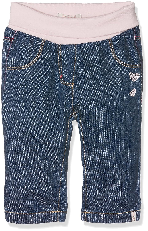 ESPRIT Kids Baby Girls' Joya Jeans Blue (Medium Wash Denim) 0-3 Months (Size: 62) RK22011