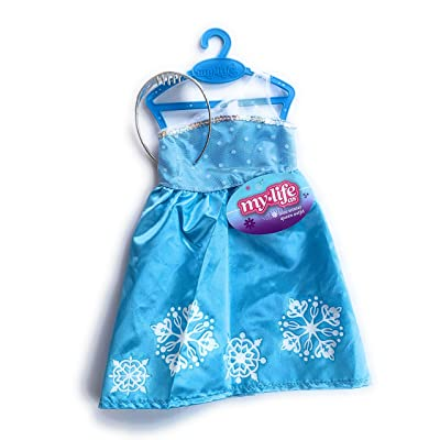 "My life As 18"" Doll Blue Winter Queen Dress & Tiara: Toys & Games"