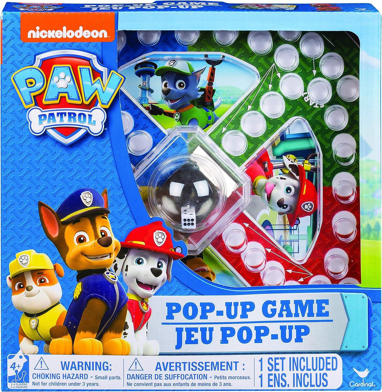 Paw Patrol Popper Game Niños Juego de azar - Juego de tablero (Juego de azar), 4 años, Modelos Surtidos: Amazon.es: Juguetes y juegos