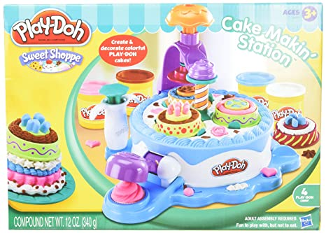 Amazon Play Doh Cake Making Station Playset Toys Games