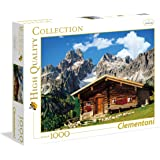 Clementoni - Puzzle de 1000 piezas, High Quality, diseño Austria: The Mountain House (392971)