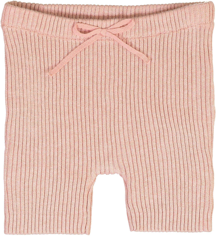 Analogie by Lil Legs Boys Girls Unisex Baby Toddler Summer Ribbed Knit Short Leggings