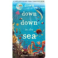 Down Down Down in the Sea (A Lift-And-Learn Peek-Through Book)