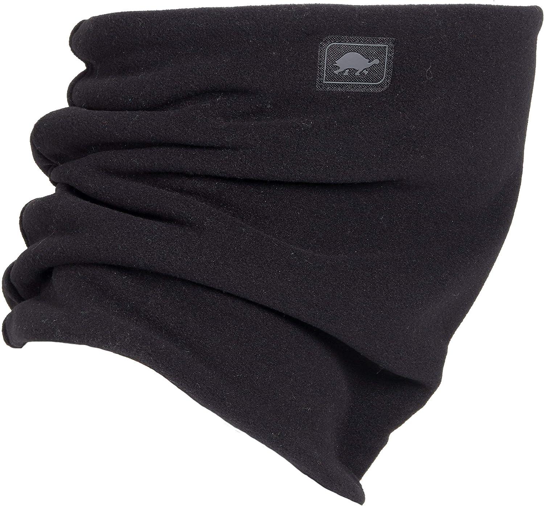 Turtle Fur Micro Fur Stretch Double Layer Neck Neckwarmer, Black: Turtle Fur: Clothing