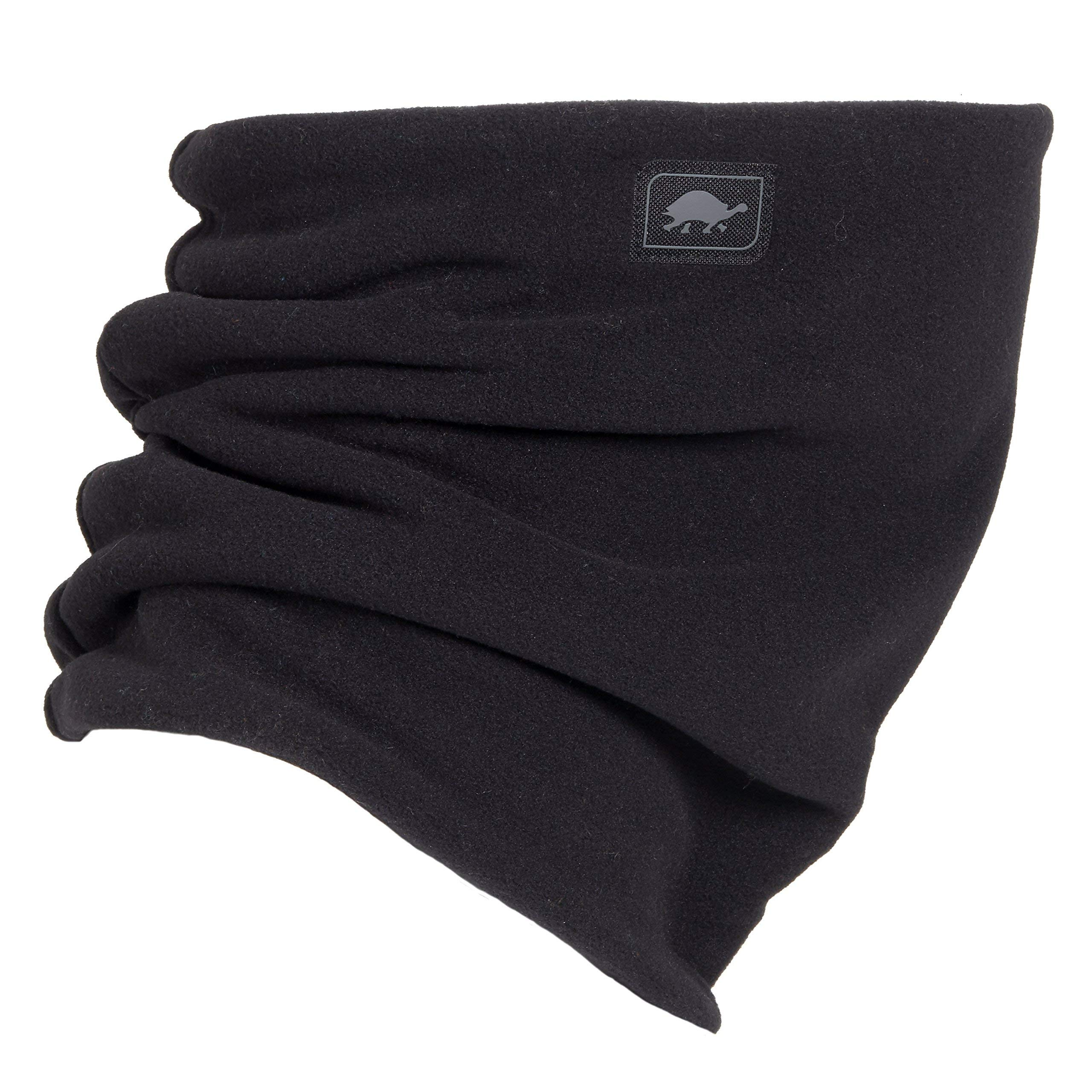 Turtle Fur Micro Fur Stretch Double Layer Neck Neckwarmer, Black by Turtle Fur (Image #1)