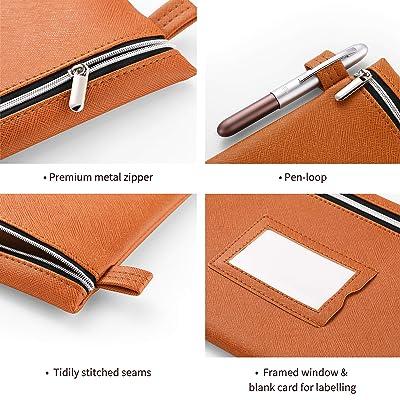 Leather Multi use Bag Leather Utility Bag Costmetic Bag Leather Pencil Bag Small Tools Bag