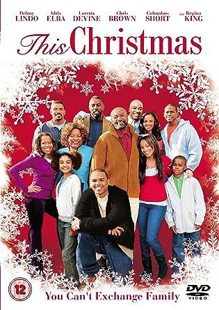 Chris Brown This Christmas.This Christmas Dvd Amazon Co Uk Delroy Lindo Idris Elba