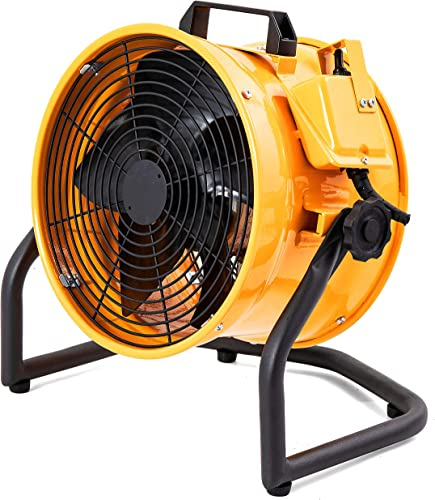MOUNTO 1 2HP 3000CFM 12 Portable Axial Blower Exhaust Fan Confined Space Blower