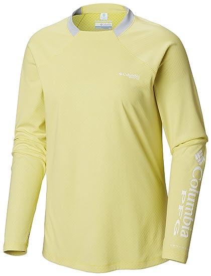35259dfa7 Amazon.com: Columbia Women's PFG Tidal Deflector Zero Long Sleeve Shirt:  Clothing