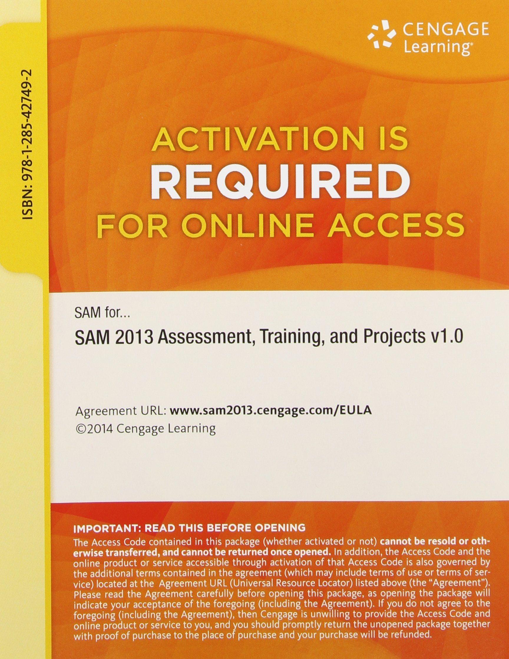 Sam 2013 assessment training and projects v10 multi term printed sam 2013 assessment training and projects v10 multi term printed access card sam 9781285427492 books amazon fandeluxe Image collections
