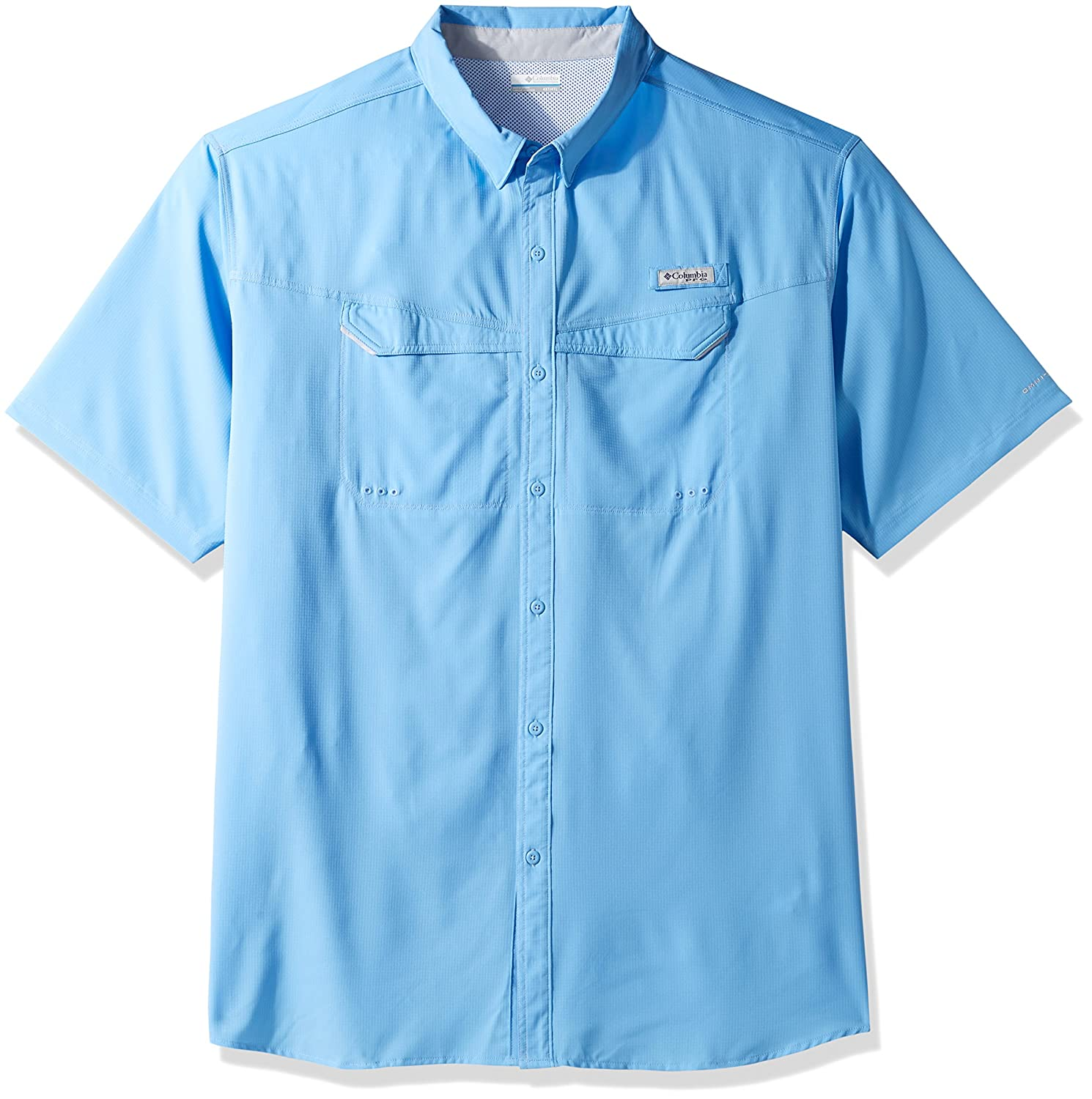 Columbia Men's Niedrig Drag Offshore Short Sleeve Shirt, Weiß, Large Tall