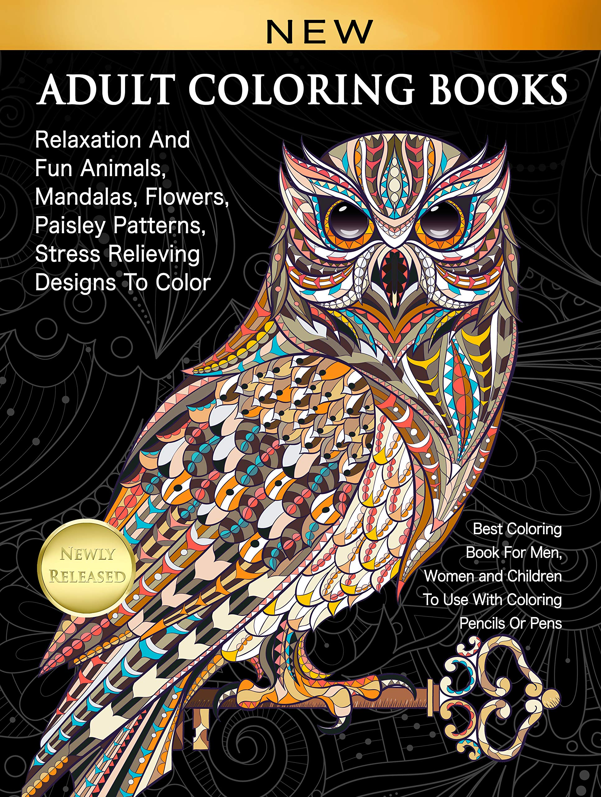 - Amazon.com: Adult Coloring Books Relaxation And Fun Animals