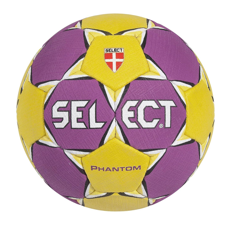 Select Phantom - Balón de balonmano, colores lila y amarillo ...