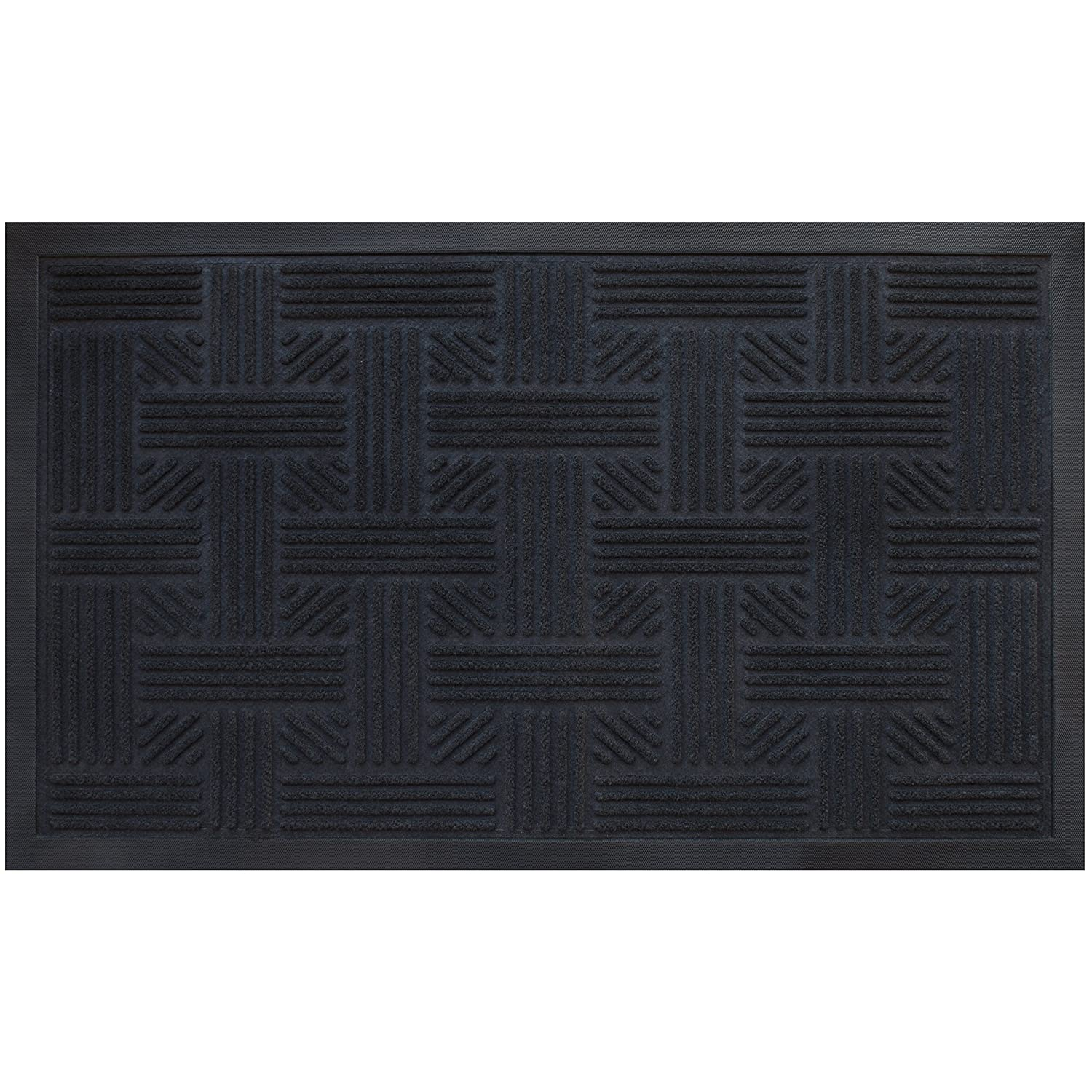 Superbe Amazon.com : Alpine Neighbor Doormat, Low Profile Outdoor, Washable  Cross Hatch, Rubber Front Entrance Floor Shoes Rug, Garage Entry Carpet  Decor For House ...