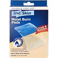 2nd Skin 47-027 Moist Burn Pads 3X4