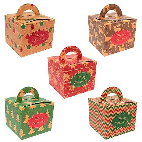regalo Cajas Cajas de regalo regalo del paquete para Navidad Adviento | Set de 5 |