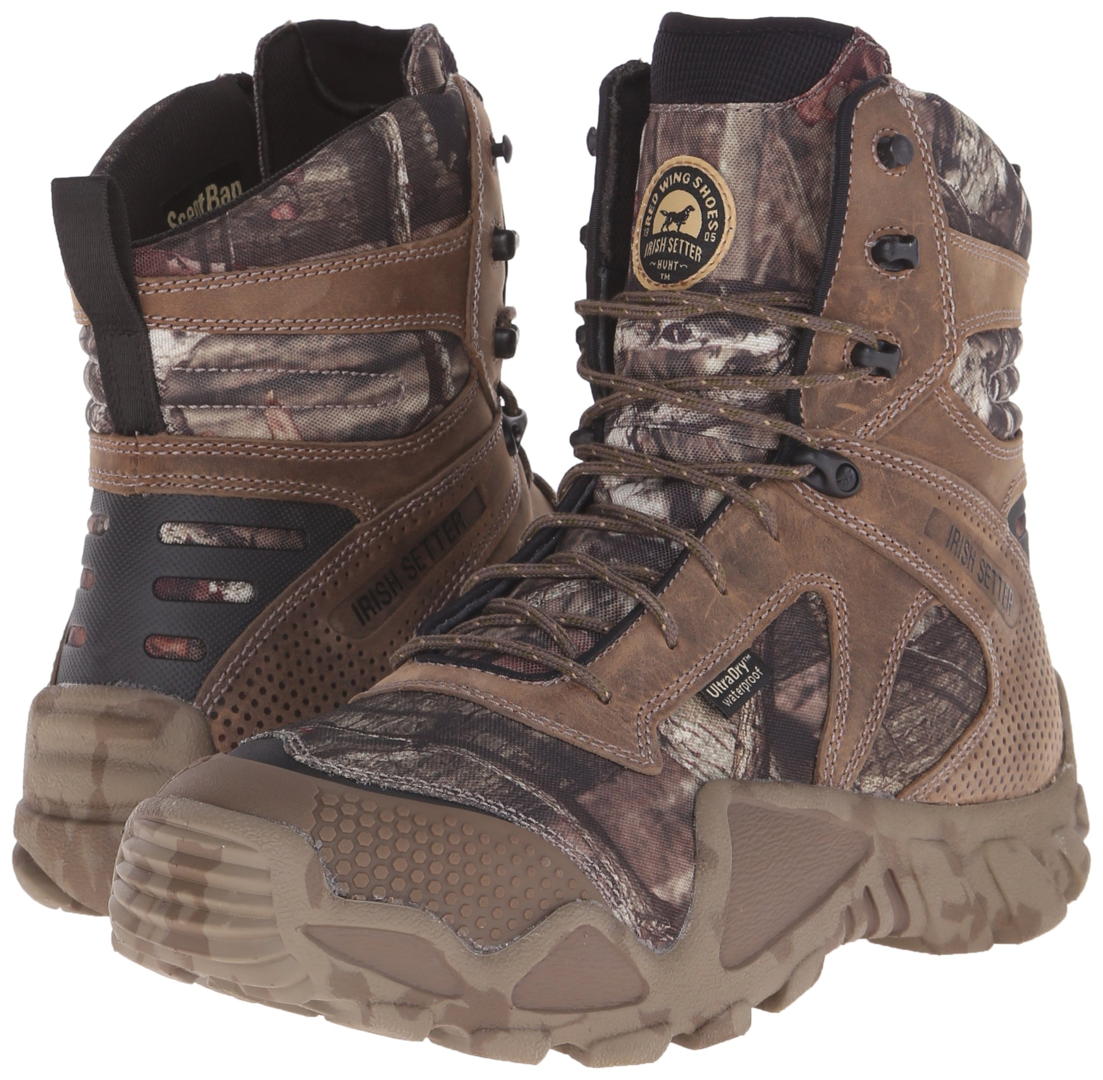 Irish Setter Men's 2868 Vaprtrek Waterproof 8'' Hunting Boot, Mossy Oak Break Up Infinity Camouflage,10 EE US by Irish Setter (Image #6)