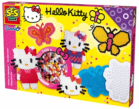 Ordentlich Bügelperlen Mit Steckplatten Für Kinder GroßEs Sortiment Spielzeug Basteln & Kreativität
