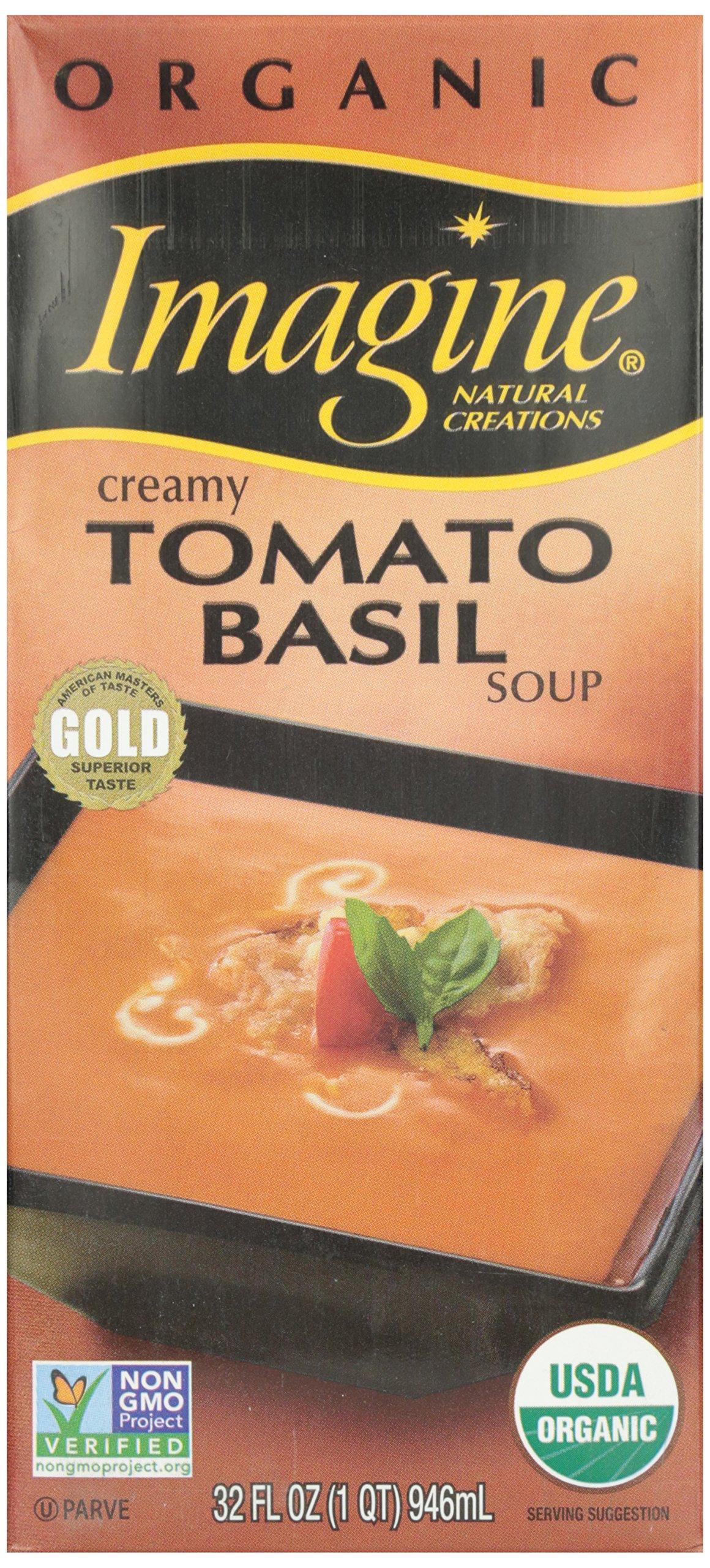 Imagine Creamy Tomato Basil Soup, Organic, 32 oz
