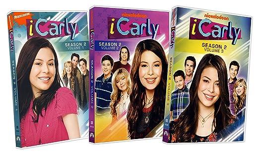 Amazon com: iCarly: The Complete Season 2 (Volume 1 / 2 / 3