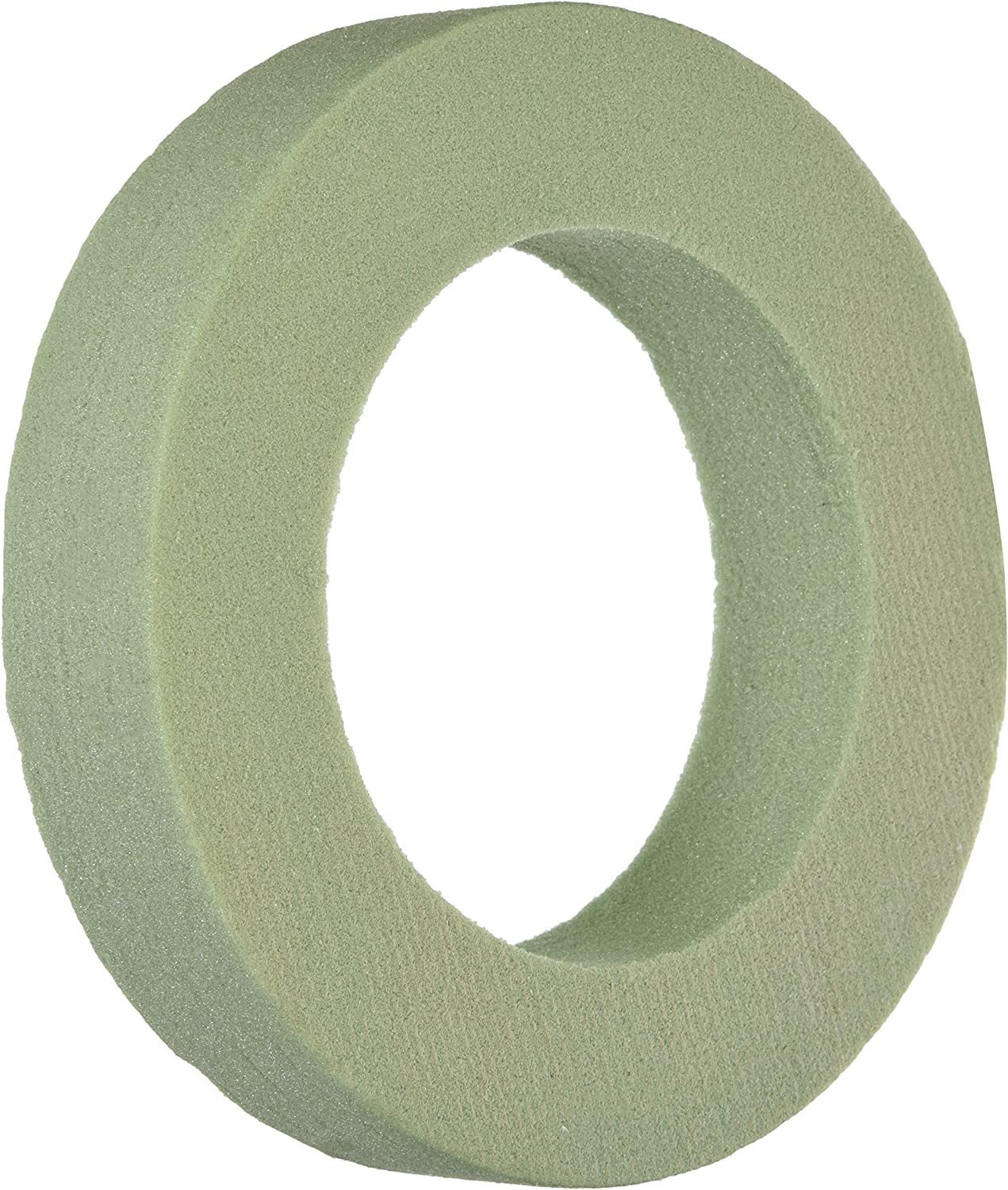 Dry a sec Floral Green Foam Ring for Wreath Design 7.9 in x 1.5 Inch