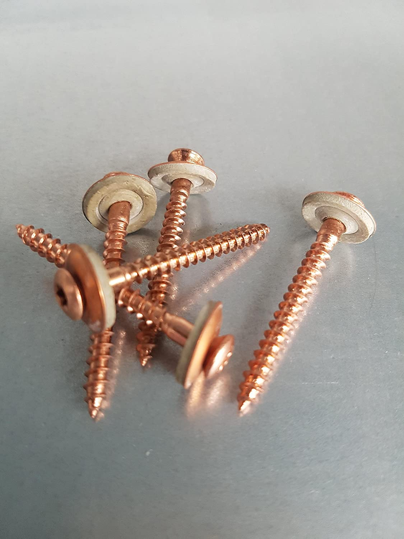 Cuivr/é acier inoxydable A2/Cuivr/é Torx 25 mousse Heibe 15/mm Lot de 200/vis Spengler 4,5/x 25/ 4,5/x 25/–4,5/x 80/Disponible