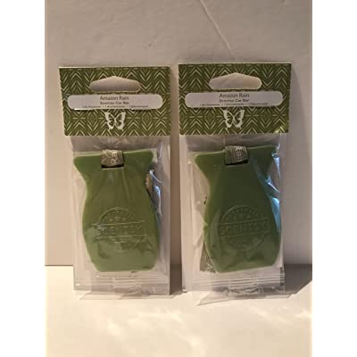 Scentsy 2pk Rain Car Bar Air Freshener: Beauty [5Bkhe0411895]