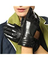 Bestselling Women's Winter Warm Touchscreen Texting Driving Nappa Leather Gloves (Plush/cashmere Lining)