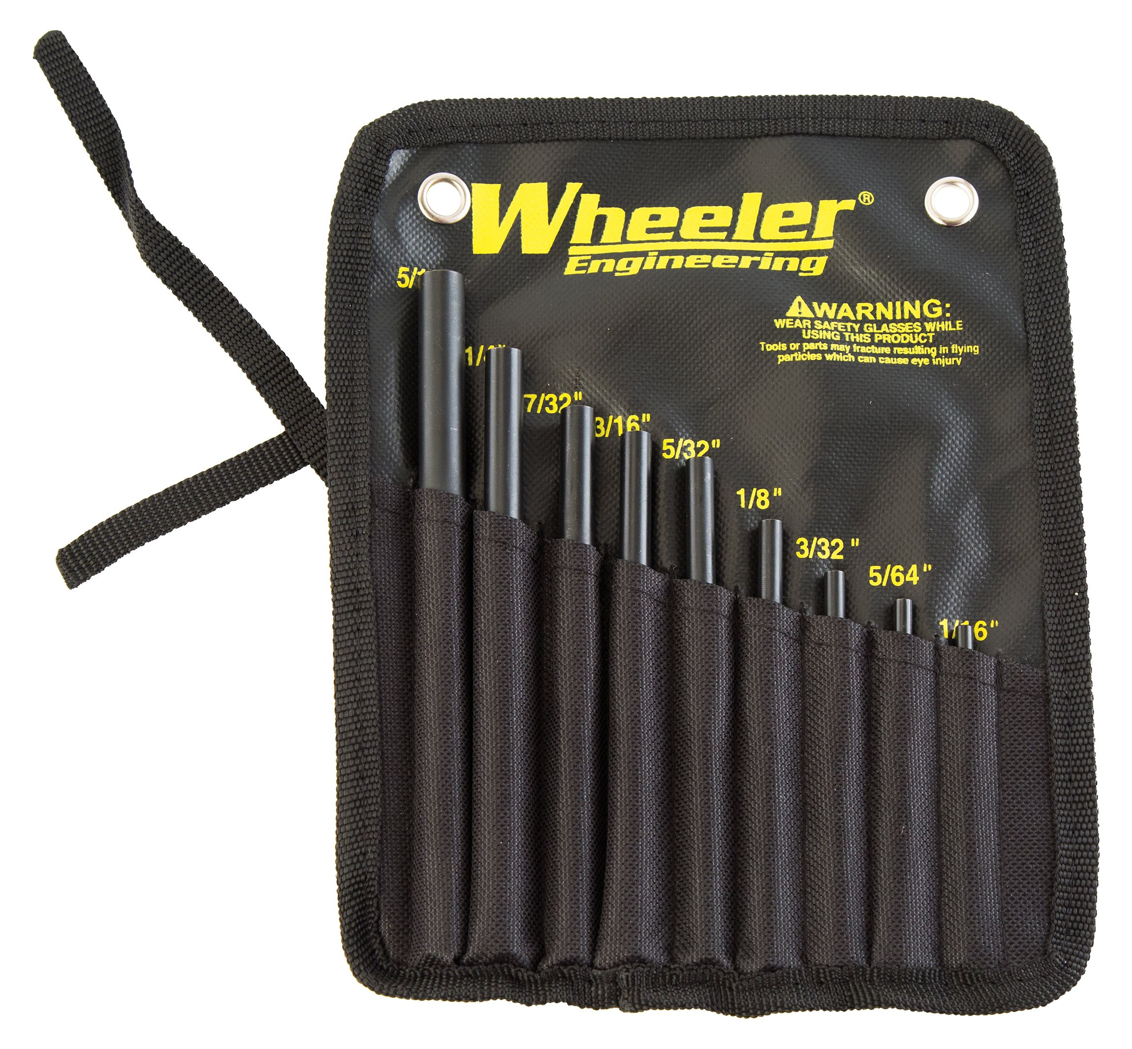 Wheeler Engineering Roll Pin Starter Punch Set by Wheeler