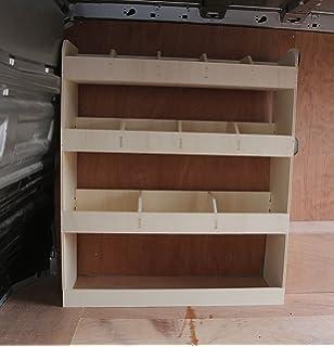 Renault Trafic LWB pre 2014 NS Rear Lightweight Plywood Van Shelving Racking Storage System Tool Rack