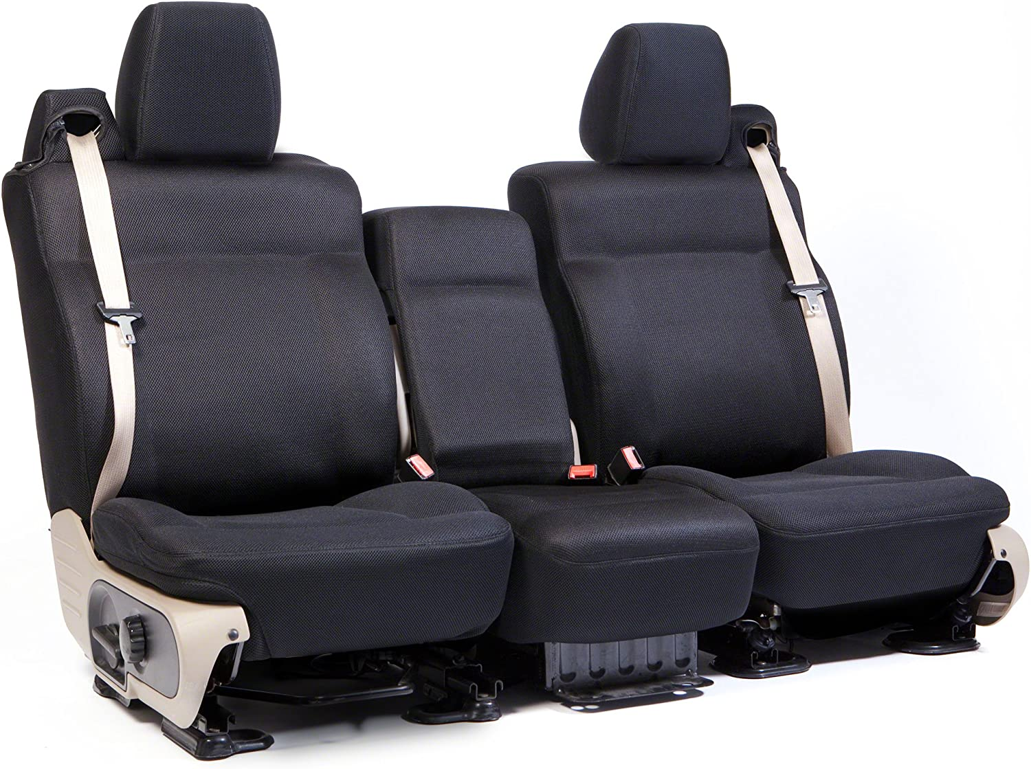 Taupe 1 Row Coverking Custom Fit Molded Seat Cover for Select Gmc Yukon XL Models Mesh Solid