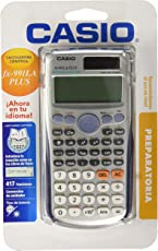 Casio FX-991LAPLUS-SC-MH Calculadora Científica, Color Gris