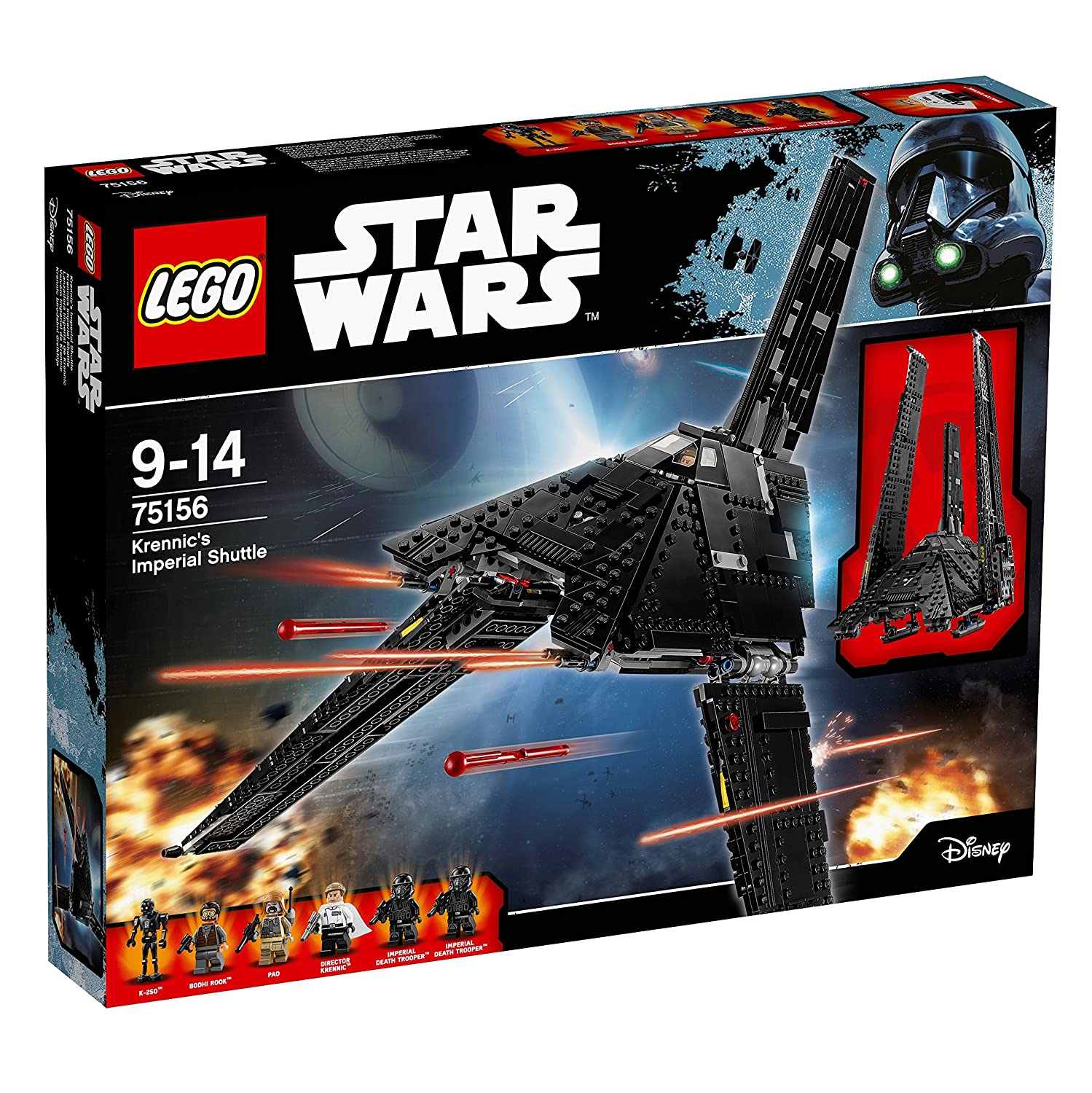 Lego 75156 Star Wars Krennics Imperial Shuttle Lego Amazon
