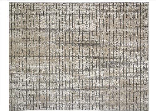 Gertmenian Modern Abstract Rug Distressed High-Low Area Carpet