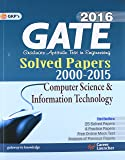 Gate Paper Computer Science & Information Technology 2016: Solved Papers 2000 - 2015