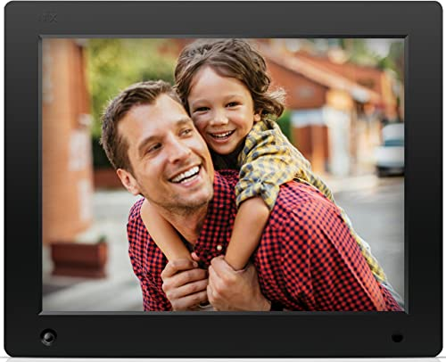 NIX 12 inch Hi-Res Digital Photo Frame with Motion Sensor 4GB Memory X12C